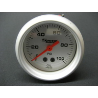 "2"" SPECO MECHANICAL OIL PRESSURE GAUGE CAR,BIKE,BOAT"