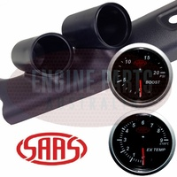 SAAS PIllar Pod suits Toyota 70 76 78 79 Series Landcruiser Exhaust Boost Gauge