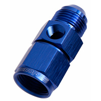 "Aeroflow Straight Female Male -12AN Blue With 1/8"" NPT Port AF140-12"