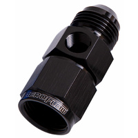 "Aeroflow Straight Female Male -12AN Black With 1/8"" NPT Port AF140-12BLK"