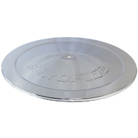"Aeroflow 14"" Chrome Steel Top Plate AF2851-1422"