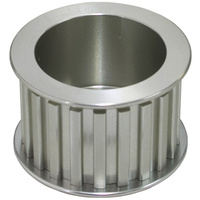 Aeroflow Alternator Glimer Drive Pulleyonly- Anodised Silver