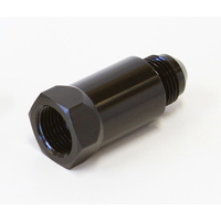 Aeroflow Roll Over Valve F/Male -8 Orb To Male -8An AF614-08BLK