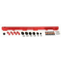 Aeroflow Fuel Rail Kit Holden Commodore VL Turbo RB30 RB30ET Red AF64-2012R