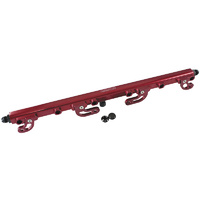 Aeroflow Billet EFI Fuel Injection Rails Red Ford Falcon XR6 FG 4.0 Barra AF64-2113R