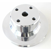 Aeroflow Holden V8 Water Pump V Pulley Suit VN-On Jumbo Pump Polished