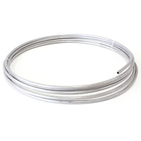 "Aeroflow 3/8"" S/Steel Fuel Line (9.5mm)Stainless Steel Hard Line AF66-3000SS"