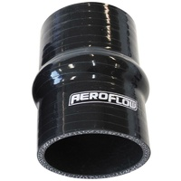 "Aeroflow Silicone Hump Hose Straight Black I.D 4.00"" 102mm Wall 5.3mm AF9211-400"