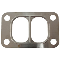 Aeroflow Turbo Inlet Flange Gasket Suit T3 Twin Entry Flange Single Layer Embossed Steel AF9557-0002