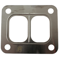 Aeroflow Turbo Inlet Flange Gasket Suit T4 Twin Entry Flange Single Layer Embossed Steel AF9557-0003