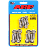 ARP Intake Manifold Bolt Kit Stainless Steel 12-Point Head SB Chev V8 AR434-2101