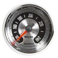 "Auto Meter American Muscle Water Temperature Gauge 2-1/16"" 120-240°F AU1232"