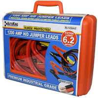 1200amp 6.2m Surge Protected Heavy Duty Jump Start Booster Jumper Leads BL1200AZ
