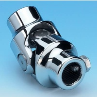 "Borgeson Polished Stainless Steel Universal Joint for Holden Torana 3/4""DD x 9/16"" Including Cotter Pin BOR124979"