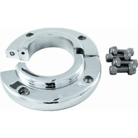 "Borgeson Polished Billet Aluminium Solid Swivel Floor Mount Suit 1-1/2"" Steering Columns BOR909014"