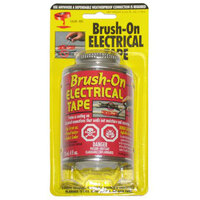 Blue Magic Brush On Liquid Electrical Tape Flexible Rubber Insulation Sealant Red BOT58TRI
