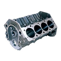"Dart Big M Sportsman Cast Iron BB Chev V8 Engine Block with 4-Bolt Ductile Caps 4.600"" Bore, 10.200"" Deck, STD Mains DA31273654"