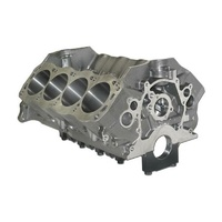 "Dart Sportsman Cast Iron Ford 302 Windsor V8 Engine Block with 4-Bolt Steel Caps 4.125"" Bore, 8.200"" Deck, 302 Mains DA31354275"