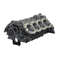"Dart SHP Cast Iron Ford 302 Windsor V8 Engine Block with 4-Bolt Steel Caps 4.125"" Bore, 8.200"" Deck, 302 Mains DA31364275"
