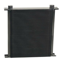 "Derale Stacked Plate Cooler 40 Rows -10AN O-ring Female 13"" x 12-9/16"" x 2"""