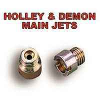 1 X PAIR OF HOLLEY / DEMON CARBURETTOR CARB CARBY  MAIN JETS SIZE # 55