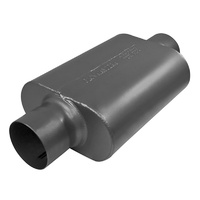 "Flowmaster 40 Series Delta Force Muffler Oval 4"" Center Inlet/Outlet"