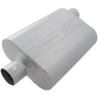 "Flowmaster 40 Series Delta Flow Muffler 2.5"" Center Inlet/Offset Outlet"