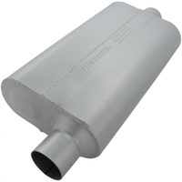 "Flowmaster 50 Series Delta Flow Muffler 2.5"" Offset Inlet/Center Outlet"