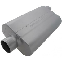 "Flowmaster 50 Series Delta Flow Muffler 3"" Center Inlet/Offset Outlet FLO943052"