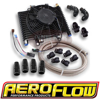Aeroflow Ford Falcon BF FG FGX XR6 Turbo 6 Speed ZF Auto Transmission Oil Cooler Kit