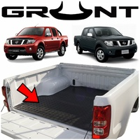 Grunt 4x4 heavy duty rubber checker plate ute tray mat Nissan Navara D40 (suits vehicles without tub liner)
