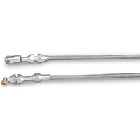 "LOKAR THROTTLE CABLE 72"" BRAIDED S/S"