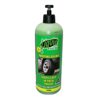 Tyre Repair Liquid Patch Sealant Tyre Repair Puncture Preventative 1L Bicycle