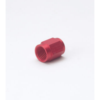 "NOS -3AN Tube Nut (Red) 3/16"" Tube"