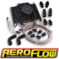 Aeroflow Holden Chev GM 2 Speed Powerglide Automatic Transmission Oil Cooler Kit