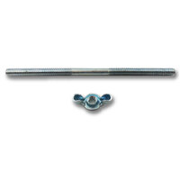 "RPC Air Cleaner Stud & Wingnut 1/4""-20 x 5"" Long Suit Steel Air Cleaner RPCR2175"