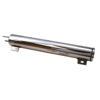 "RPC Stainless Steel Radiator Overflow Tank 2"" x 13"" 532ml Capacity RPCR6072X"