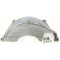 RPC Polished Aluminium Turbo 350 & Turbo 400 Flywheel Dust Cover RPCR8607