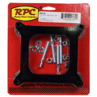 "RPC 1"" Phenolic Carburettor Spacer Kit Open Center Holley & AFB 4BBL RPCR9136"