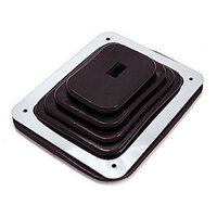 "RPC Small Rubber Shifter Boot with Chrome Plate 5-5/8"" x 6-3/4"" RPCR9630"