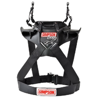 "Simpson Hybrid Sport Head & Neck Restraint X-Small Chest 32-36"" Quick Release"