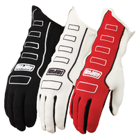 Simpson Competitor Glove X-Large, Black, SFI & FIA Approved SI21300XK