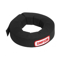 Simpson Padded Neck Support Black SI23022BK