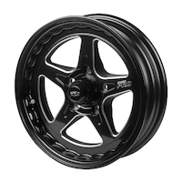 "Street Pro ll Convo Wheel Black 15x4"" Holden Chevrolet Bolt Circle 5 x 4.75"" (13) 2.0"" Back Space"