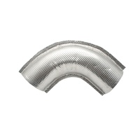 "DCI Performance 5"" pipe Heat Shields TF-600 90 Degree bend TF-600-5C"