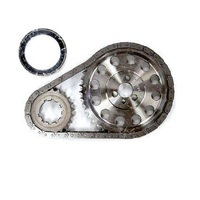 Cloyes Small Block Chev Twin Billet Steel True Roller Timing Chain TRS350BCL