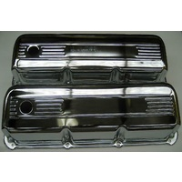 302 351 Ford Cleveland Chrome Tall Rocker / Valve Covers Will Suit Rollers