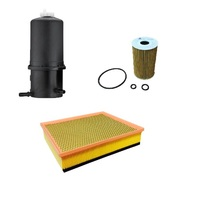 Wesfil 4WD Air Oil Fuel Filter Service Kit VW Volkswagen Amarok 2.0L CRDI Diesel